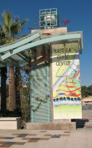 East L.A. Civic Center sign