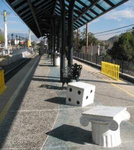 Southwest Museum Station seating