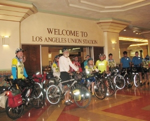 cycling club at union station