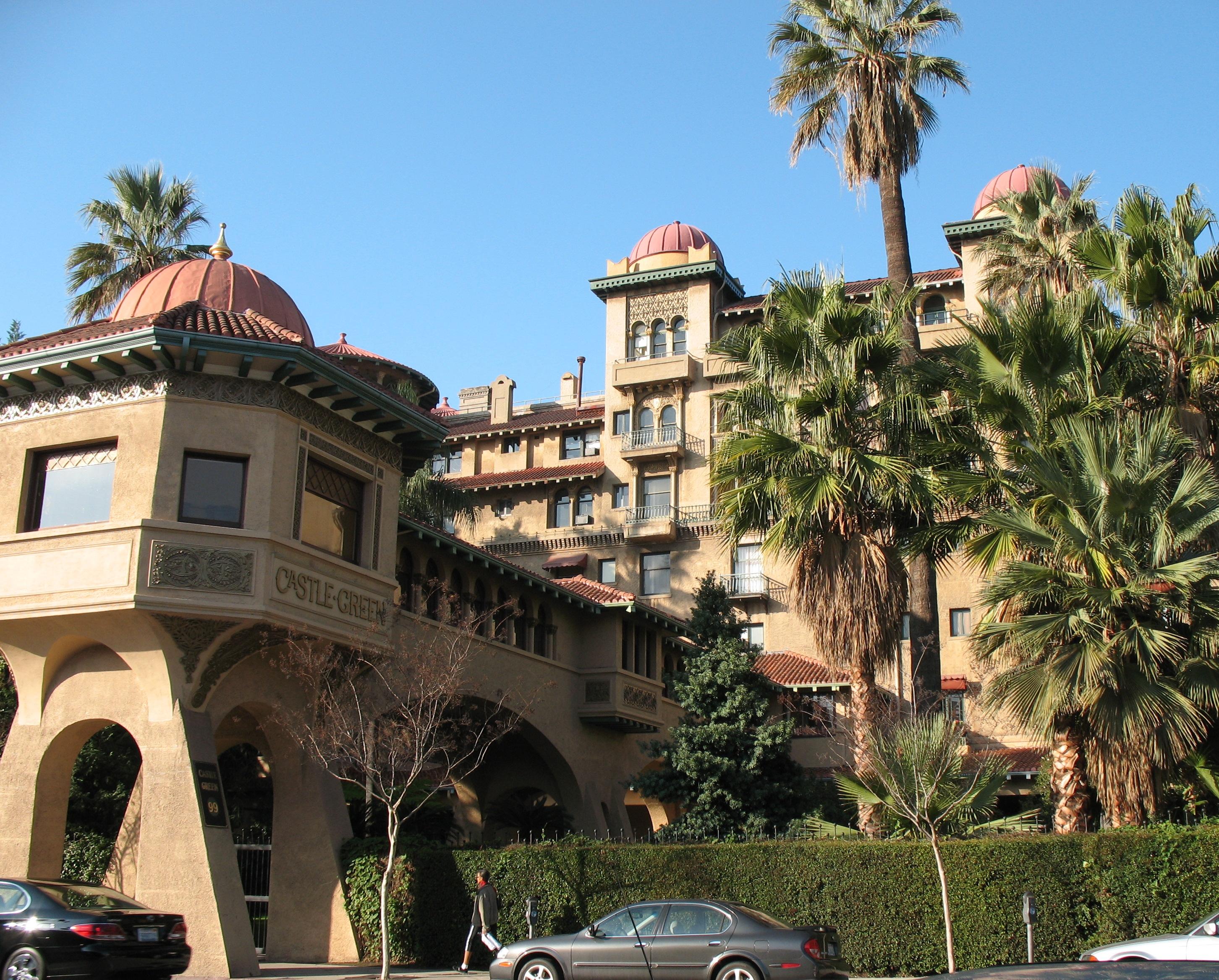 Castle Green Hotel Pasadena Ca