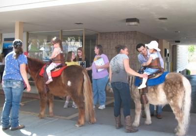 pony rides at Montrose Market