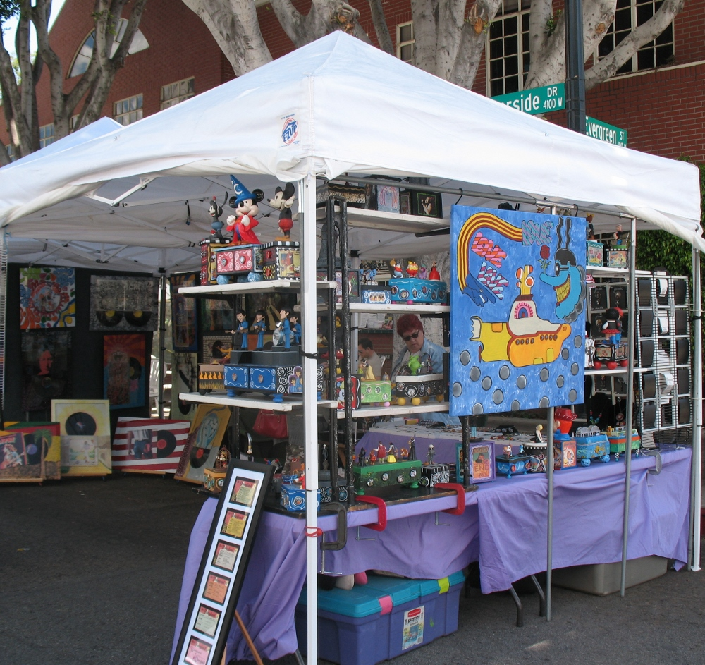 Art fairs art fairs in los angeles lacitypix for Craft fairs los angeles