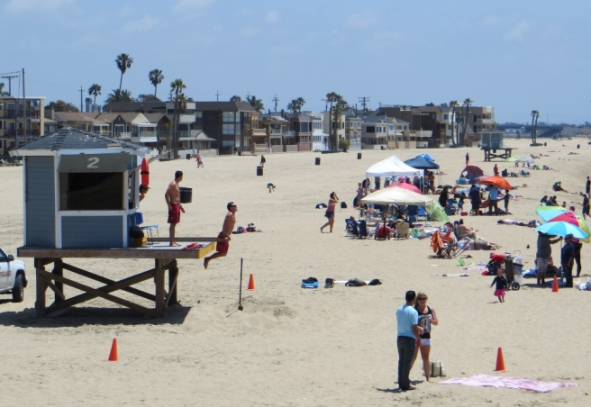 Lifeguards and bewachgoers
