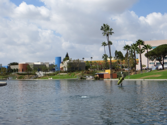 Lake at East L.A. Civic Center
