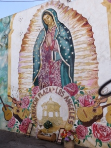 Lady of Guadalupe at Mariachi Plaza