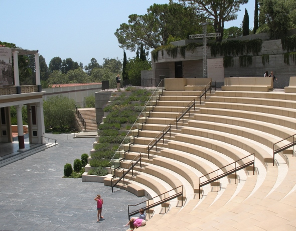 Amphitheater at Getty Villa