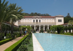 Museum at Getty Villa Malibu