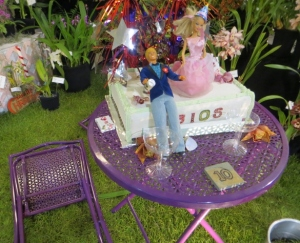 Barbie and Ken at Orchid Show
