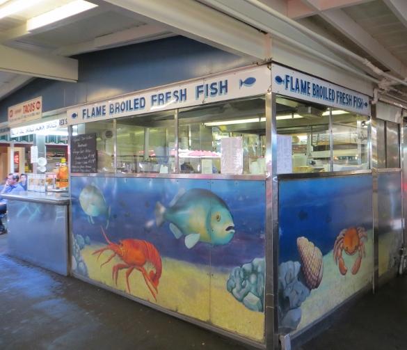 Du pars on fairfax lacitypix for Fish market los angeles