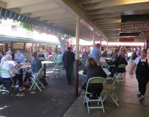 East patio Farmers Market Los Angeles