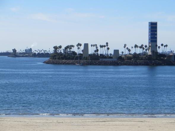 Oil island Long Beach California