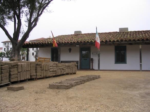 Restoriation at Santa Barbara Presidio