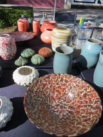 All Fired Up pottery