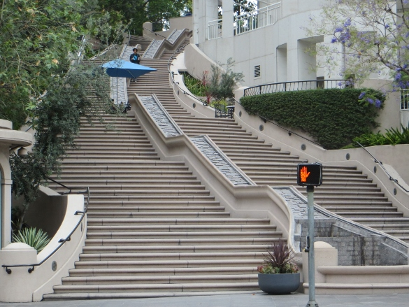 ... Library Stairs Bunker Hill Los Angeles
