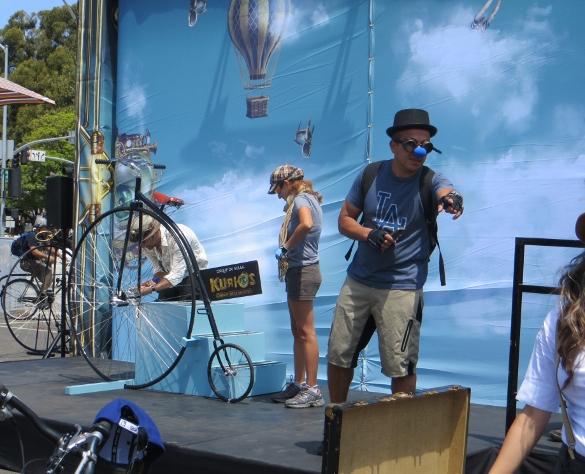 Cirque de Soleil photo booth