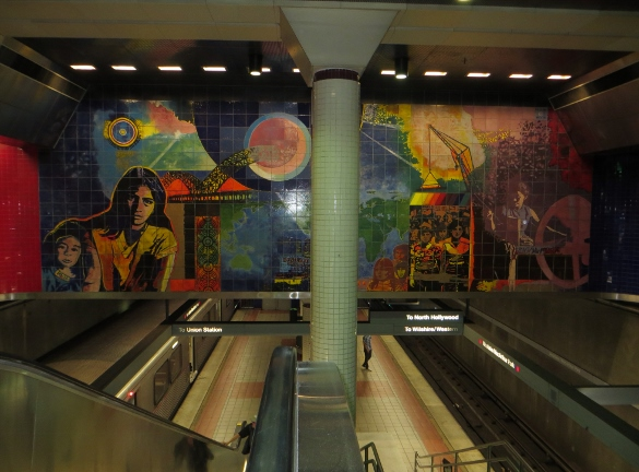 mural mcarthur park metro station