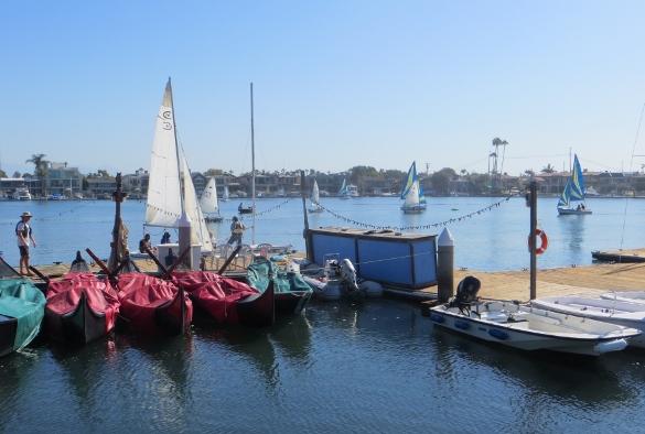 sailing classes at Leeway sailing center