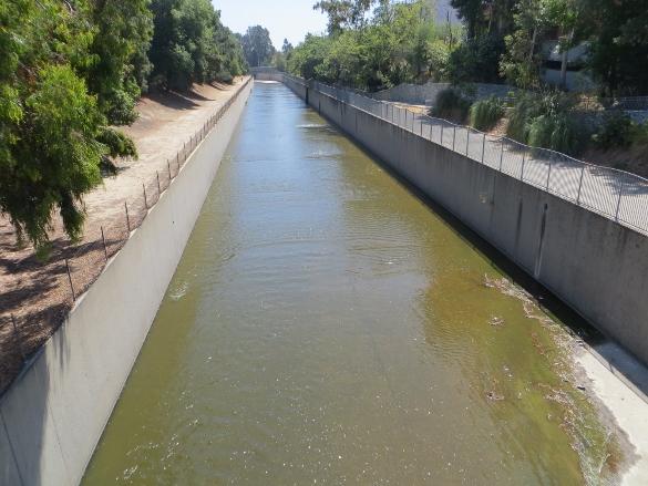 Los Angeles River Studio City