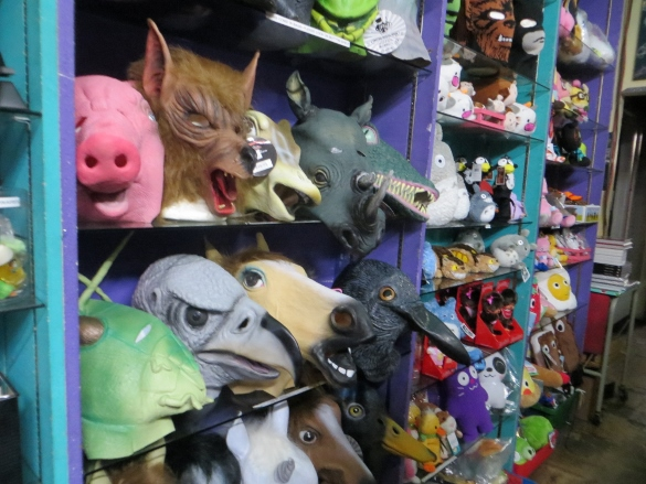 Rubber animal masks
