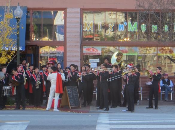 South Pasadena marching band