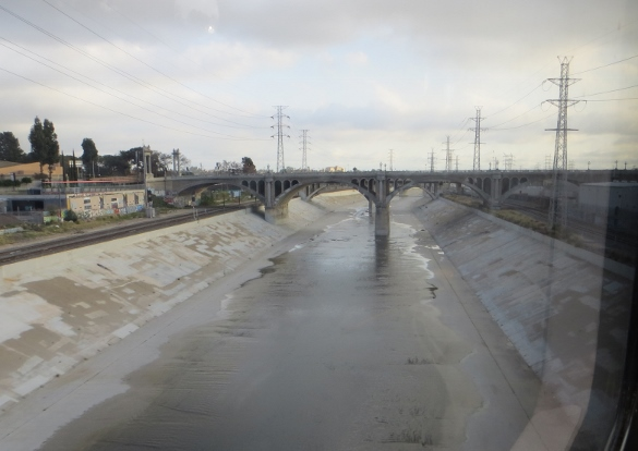 L.A. River from Metro Gold Line