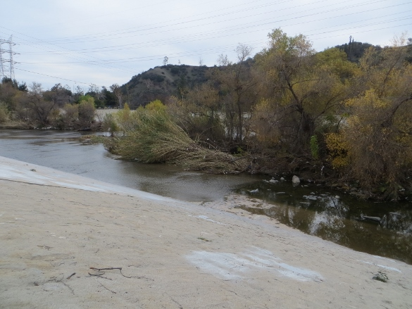 Los Angeles River after the January storm.