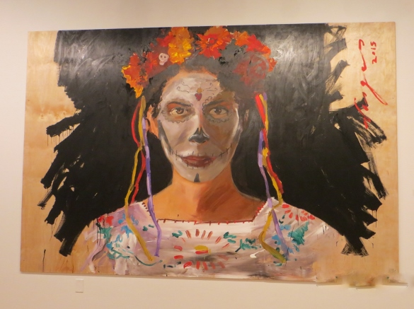 Robert Vargas Day of the Dead painting