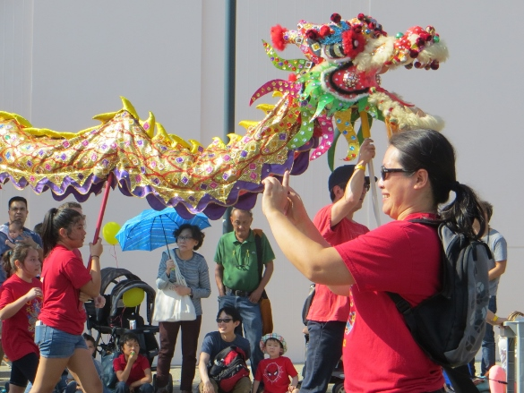 another dragon at Chinatown parade