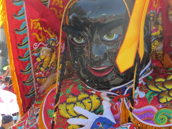 Deity figure Chinatown parade