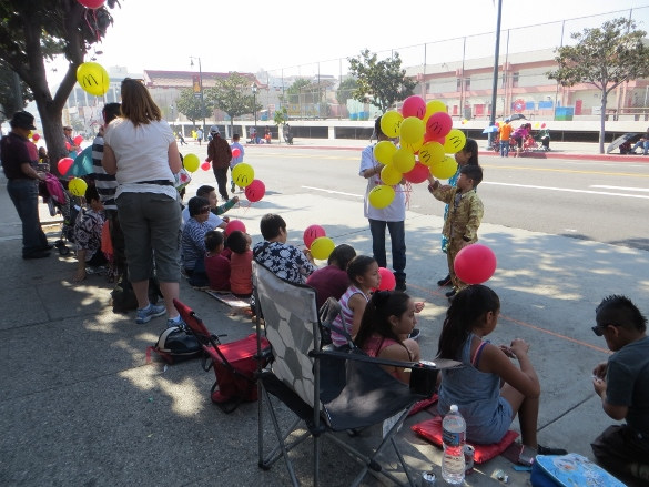 McDonal's balloons Chinatown