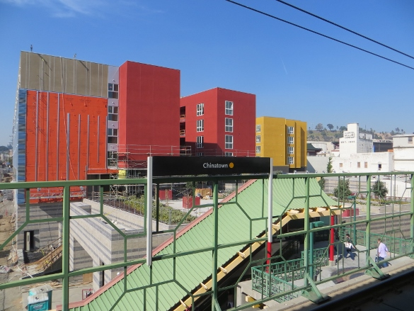 New apartment building in Chinatown L.A.
