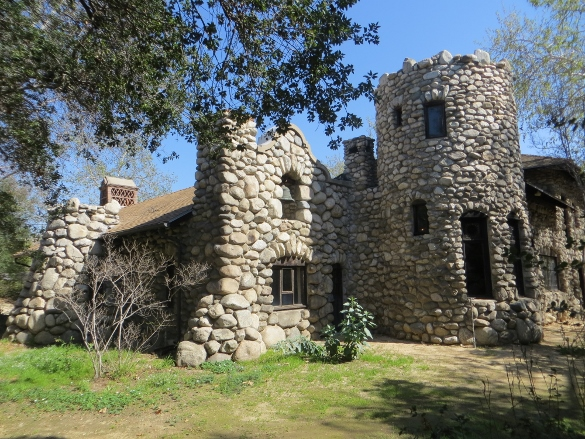 stone built Lummis House