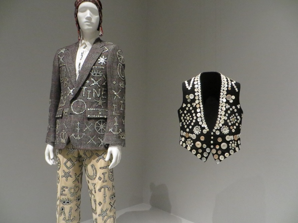 Pearly King vest at LACMA