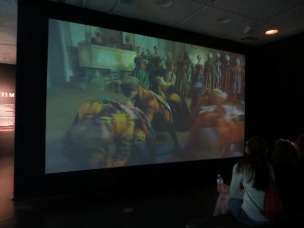 Yinka Shonibare's Masked Dance video