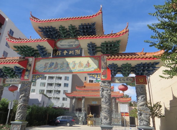 temple in chinatown