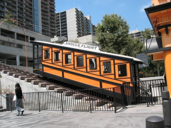 Angels flight car