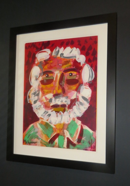 Romero self-portrait