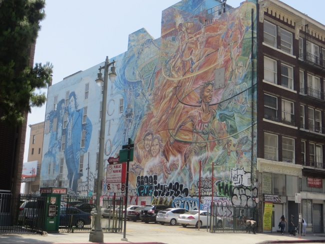 1980s murals DTLA