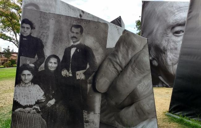 Armenian family 1917