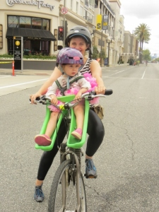 Mom and daughter CicLAvia