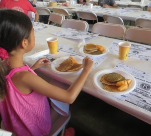 Fourth of July pancake breakfast