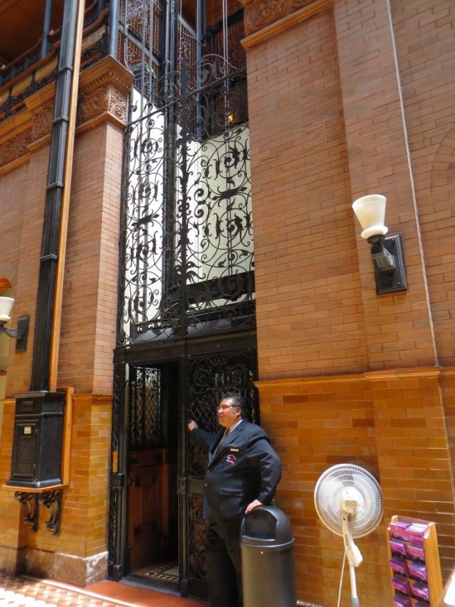 elevator Bradbury Bldg