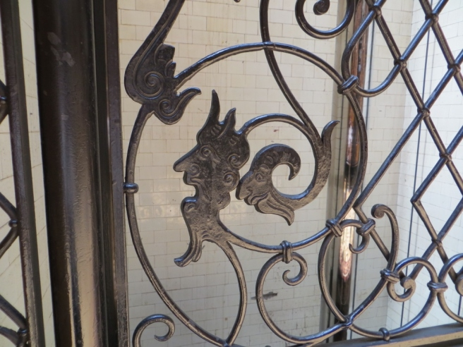 Ironwork Bradbury Building Los Angeles