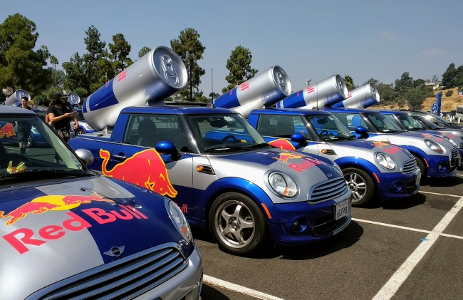 Red Bull Minis at Soap Box Derby