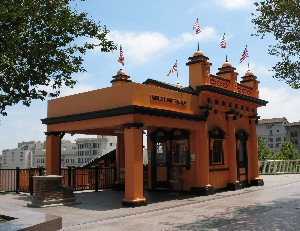 Angels Flight station Los Angeles