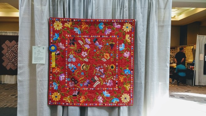 Quilt prizewinner Glendale Quilts
