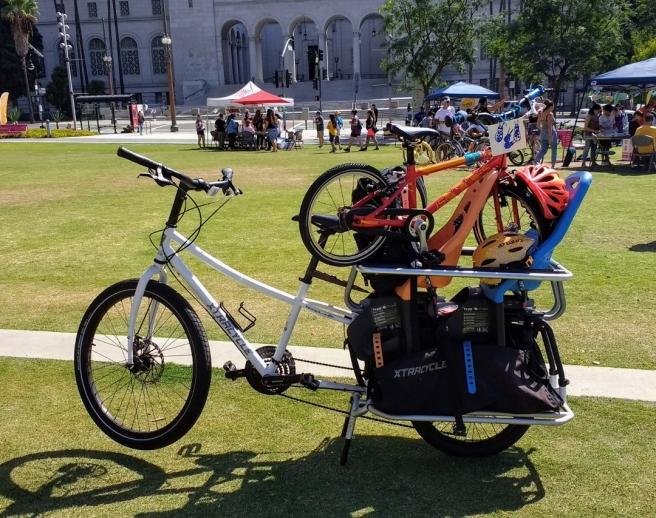 Bike hauler CicLAvia 2017 (