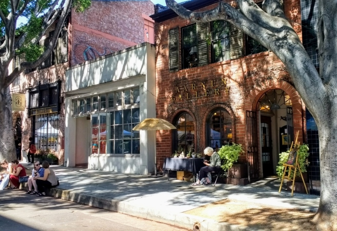 Green street shops Pasadena