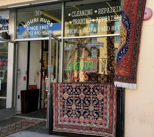 Nouri rugs Playhouse District