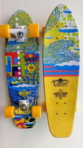 Locos Duster skateboard wave